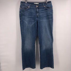 Levis 529 jeans curvy boot cut size 16